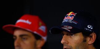 Alonso, Webber