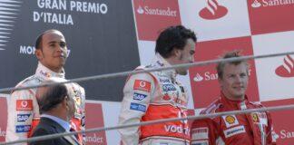 Alonso, Hamilton Räikkönen