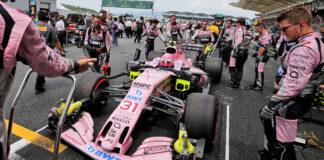 Force India, rajtrács, FIA