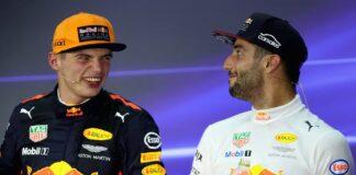 Verstappen, Ricciardo