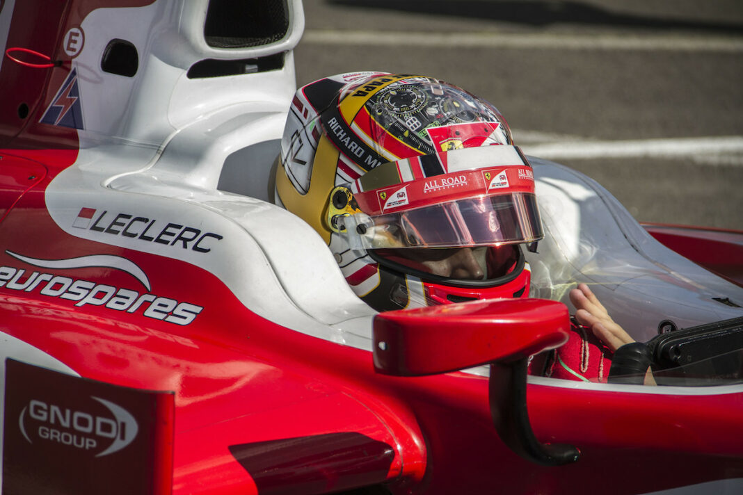 Leclerc, bajnok, Jerez, F2