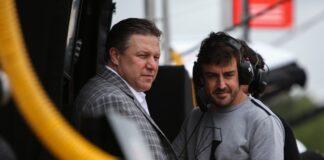 Zak Brown, Alonso, Indy 500, triple