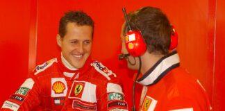 Michael Schumacher, motorhome