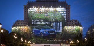 Ford Világ legnagyobb óriásplakátja