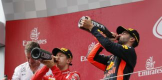 Vettel, Ricciardo
