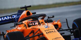 Vandoorne. McLaren