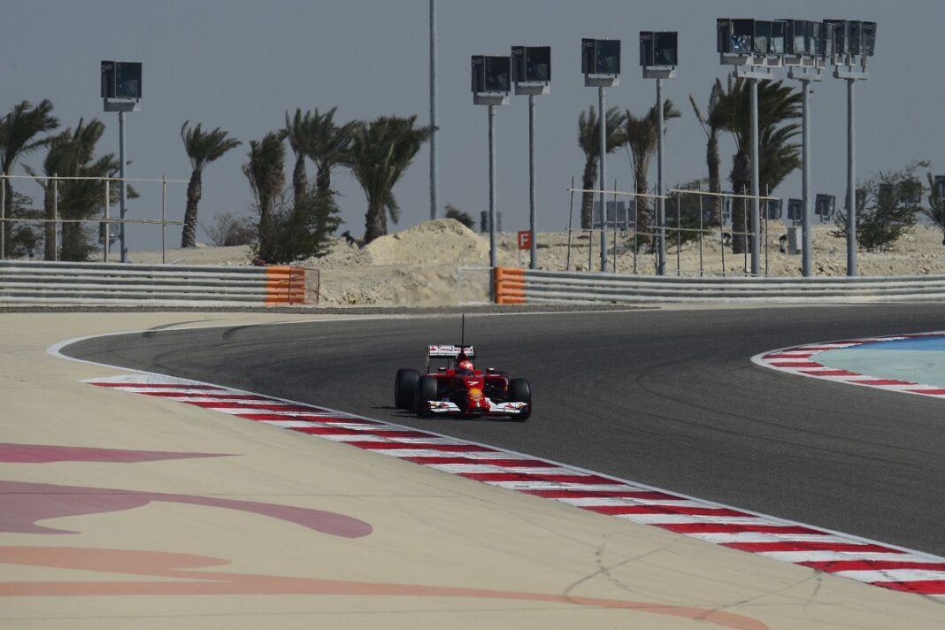 Bahrein szezon előtti teszt