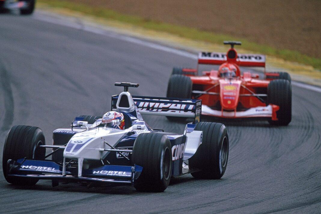 Juan Pablo Montoya & Michael Schumacher, F1, racingline.hu