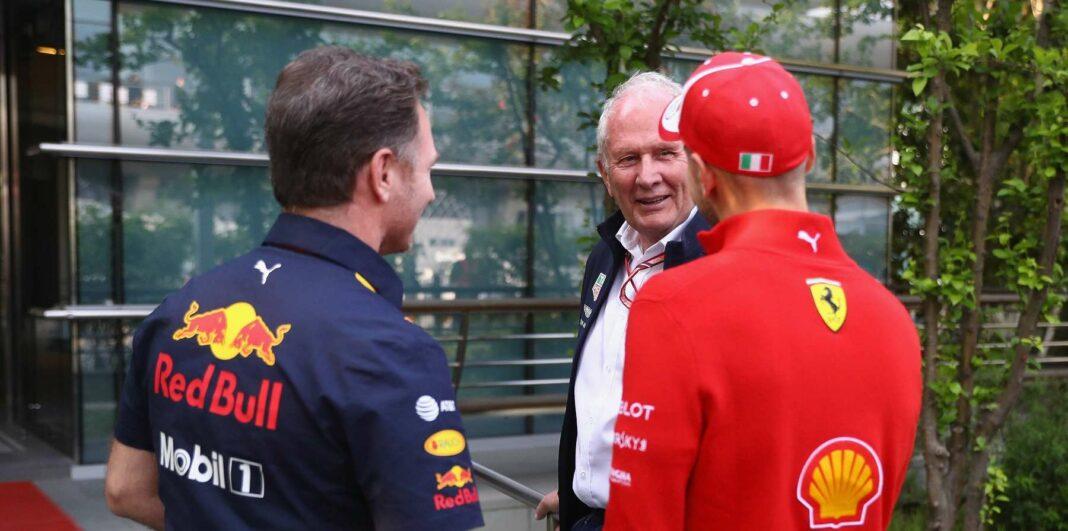Horner, Marko, Vettel