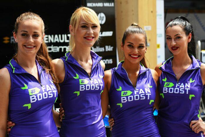 Formula E girls, Fanboost
