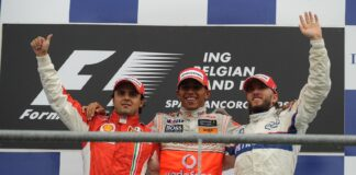 Lewis Hamilton, Felipe Massa, Nick Heidfeld