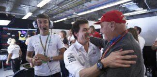 Niki Lauda, Toto Wolff, racingline.hu
