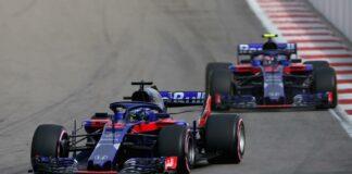 Hartley, Gasly, Toro Rosso