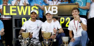 Lewis Hamilton Valtteri Bottas George Russell