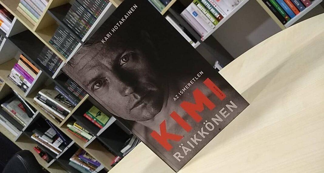 Az ismeretlen Kimi Räikkönen, helikon kiadó, könyv, racingline, racinglinehu, racingline.hu