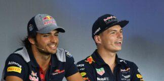 Sainz, Verstappen, Racingline