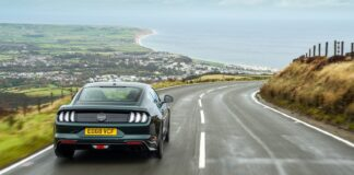 Mustang Bullitt racingline, racinglinehu, racingline.hu