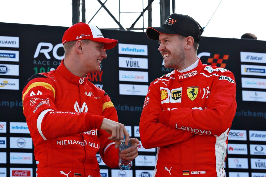 Mick Schumacher Sebastian Vettel