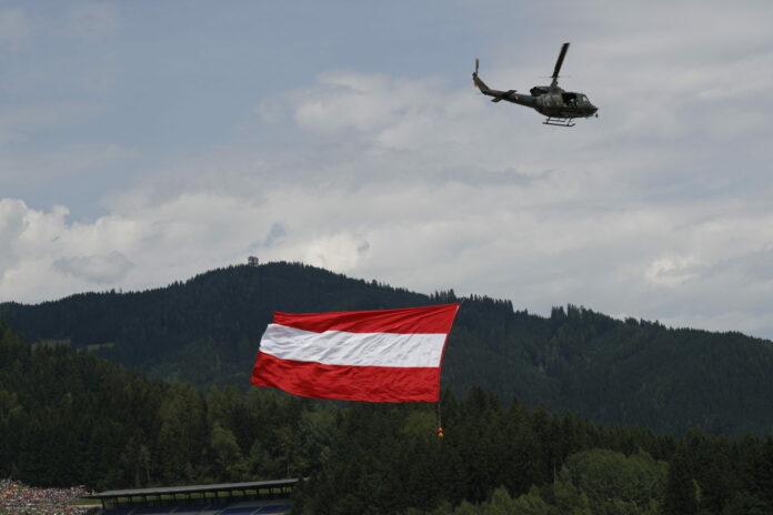 osztrák zászló, ausztria, roland ratzenberger, racingline.hu
