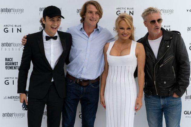 Brandon Thomas Lee, Freddie Hunt, Pamela Anderson, Eddie Irvine