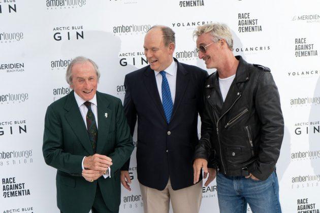 Jackie Stewart, Albert herceg, Eddie Irvine