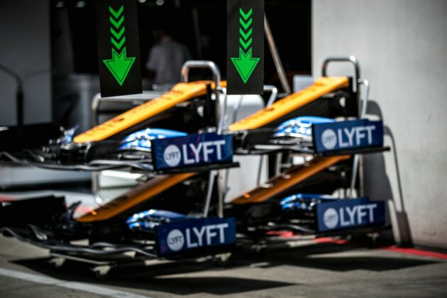 McLaren, wing, szárny
