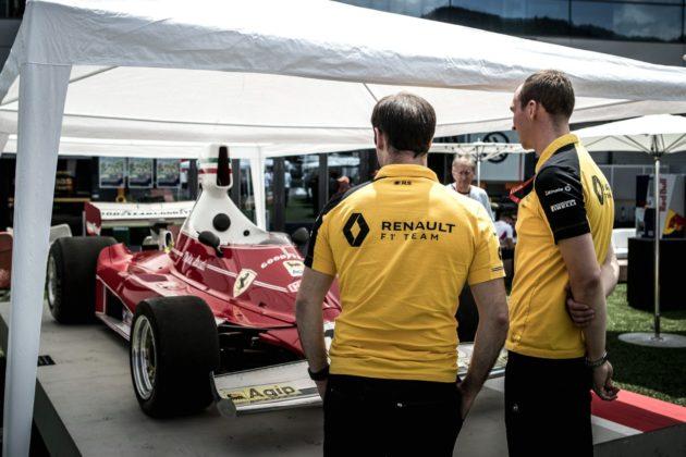 Renault, Ferrari