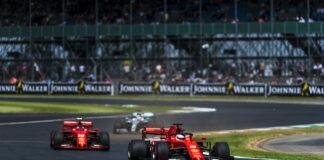 Leclerc & Vettel, Ferrari, Silverstone, Forma-1, racingline.hu