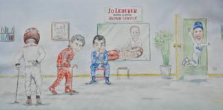 Rajz Jo Leberernek, alfa romeo racing