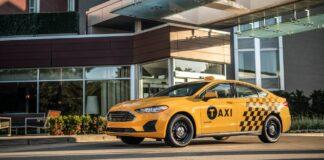 Ford Fusion Hybrid Taxi
