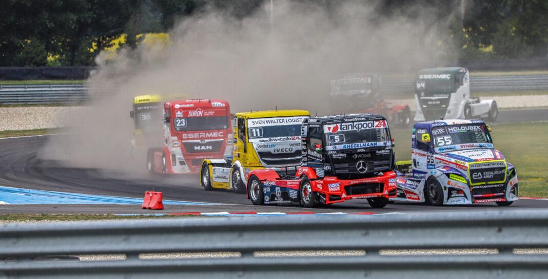 Adam Lacko, Kiss Norbi, André Kursim, Antonio Albacete, nürburgring