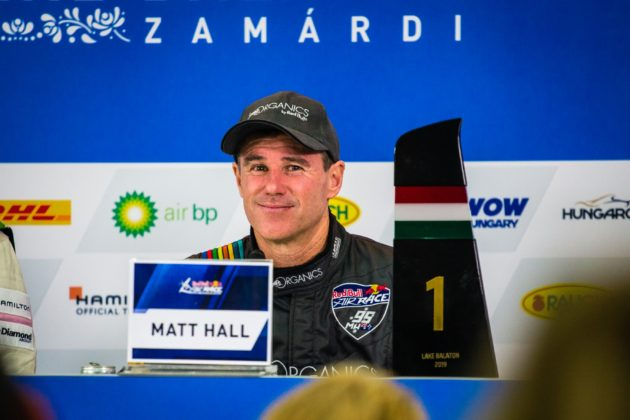 Red Bull Air Race, Zamárdi, Matt Hall