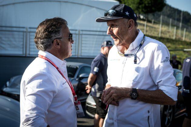 Hans-Joachim Stuck, Jean Alesi