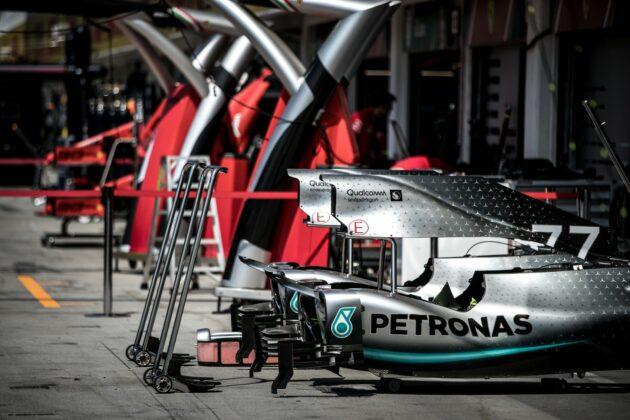 Ferrari, Mercedes, F1