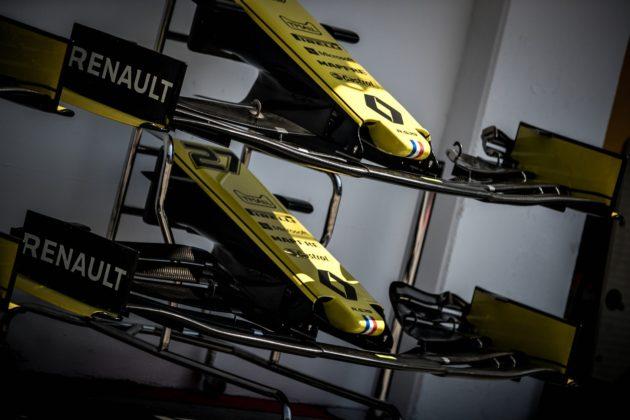 Renault, nose, wing