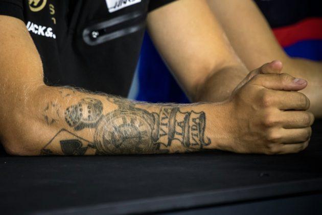 Kevin Magnussen, Tattoo