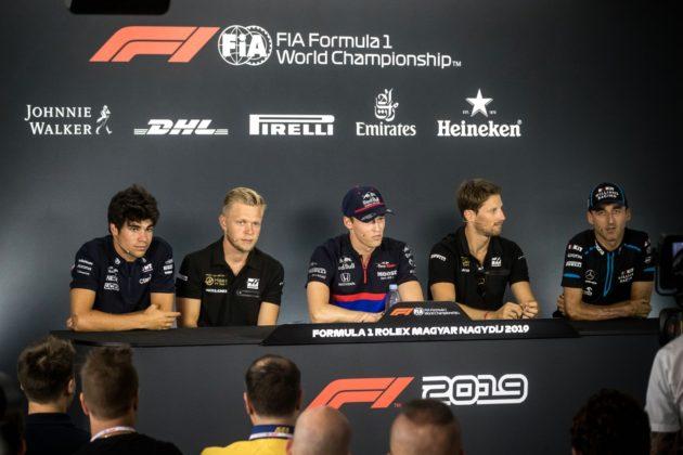Lance Stroll, Kevin Magnussen, Robert Kubica, Daniil Kvjat, Romain Grosjean