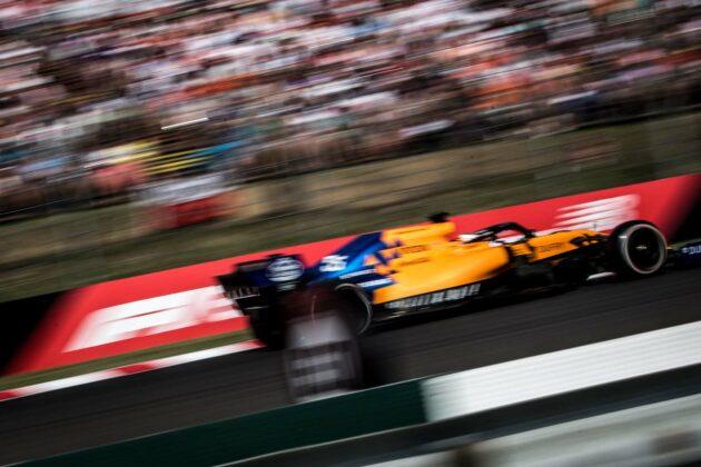 McLaren Carlos Sainz