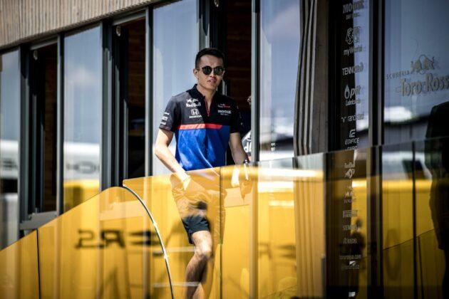 Alex Albon, Toro Rosso, racingline, racinglinehu, racingline.hu