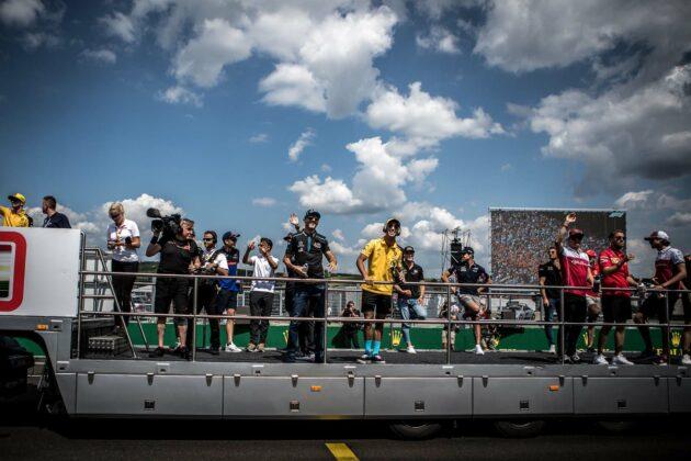 f1, forma-1, drivers parade, kvíz, karantén