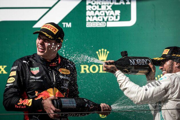 Lewis Hamilton, Max Vertappen