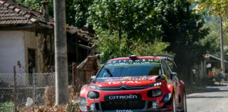 Sebastien Ogier and Julien Ingrassia, racingline