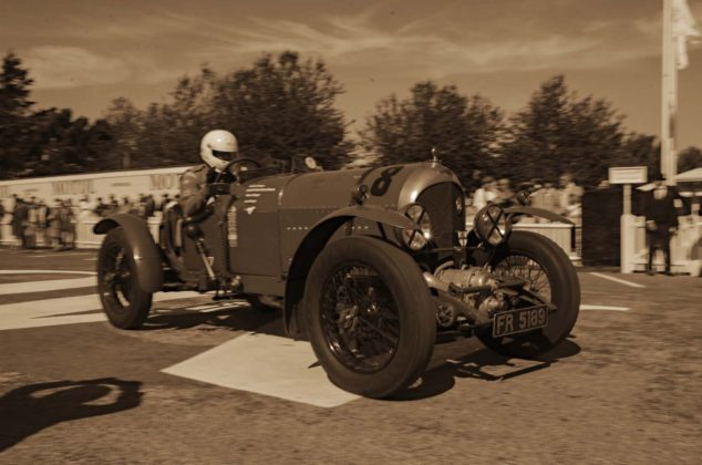 Goodwood Revival, Bentley 3-litre Supercharged
