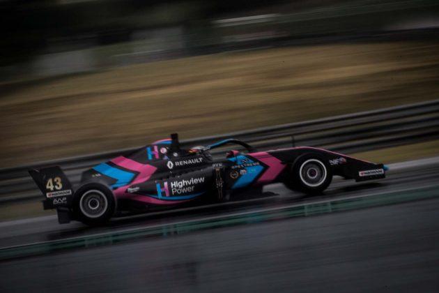 Formula Renault Eurocup rain, eső