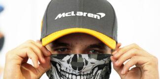 Lando Norris, McLaren, halloween, racingline.hu