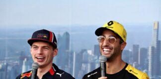 Max Verstappen, Daniel Ricciardo, Renault, Red Bull, racingline, racinglinehu, racingline.hu