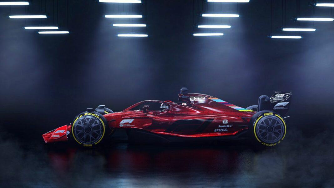 F1 2021 LAUNCH, racingline