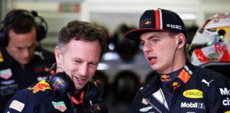 Christian Horner, Max Verstappen, Red Bull, racingline