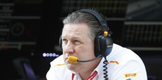Zak Brown, McLaren, racingline.hu