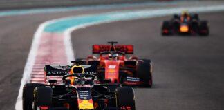 Max Verstappen, Sebastian Vettel, Alex Albon, racingline